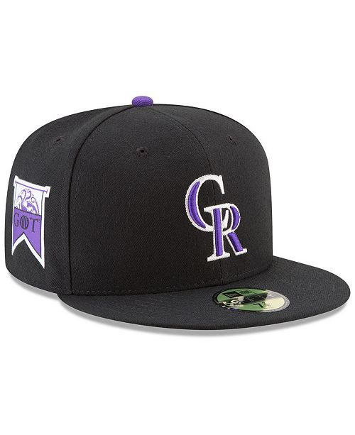 premium selection 198af 1f92f ... New Era Colorado Rockies Game of Thrones 59FIFTY Fitted Cap ...