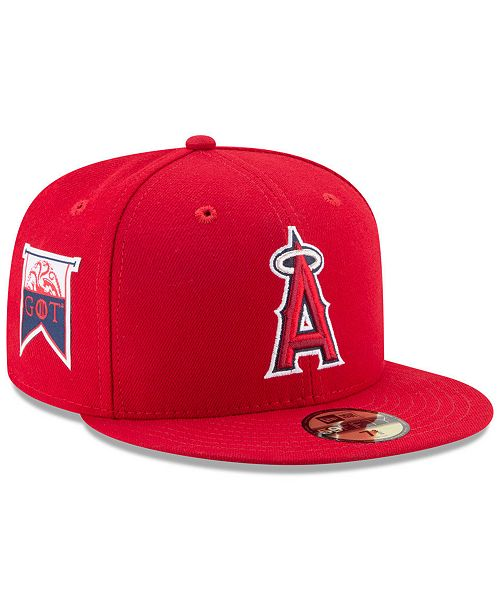ae1a2f5c912 ... New Era Los Angeles Angels Game of Thrones 59FIFTY Fitted Cap ...