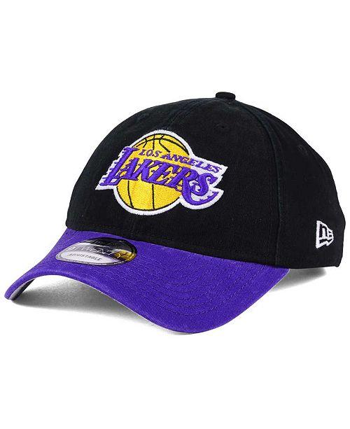 4e87df1c ... New Era Los Angeles Lakers 2 Tone Shone 9TWENTY Fitted Cap ...