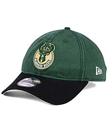 New Era Milwaukee Bucks 2 Tone Shone 9TWENTY Fitted Cap