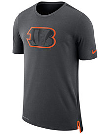 Nike Men's Cincinnati Bengals Travel Mesh T-Shirt