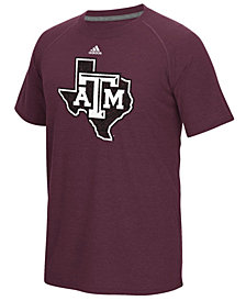 adidas Men's Texas A&M Aggies White Noise Logo T-Shirt