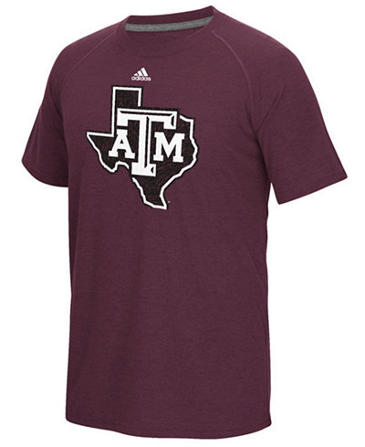 adidas Men's Texas A&M Aggies White Noise Logo T-Shirt