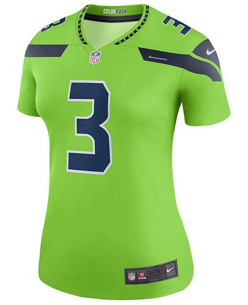 c9280886e60 Nike Women's Russell Wilson Seattle Seahawks Color Rush Legend Jersey ...
