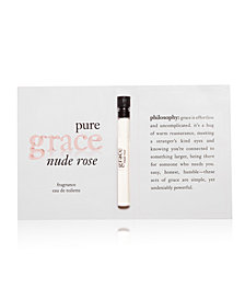 Receive a Free Pure Grace Nude Rose VOC with any $50 Beauty purchase
