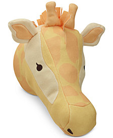 NoJo Zoobilee Plush Giraffe Wall Decor