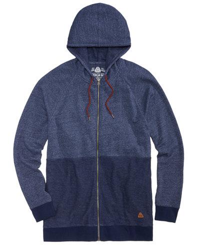 American Rag Men's Colorblocked Full-Zip Hoodie, Created for Macy's