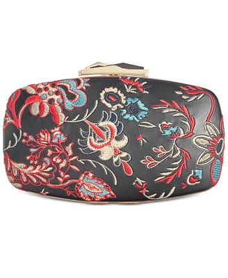 Anna Sui x I.N.C. Embroidered Clutch, Created for Macy's