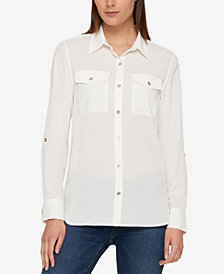 Tommy Hilfiger Utility Shirt, Created for Macy's