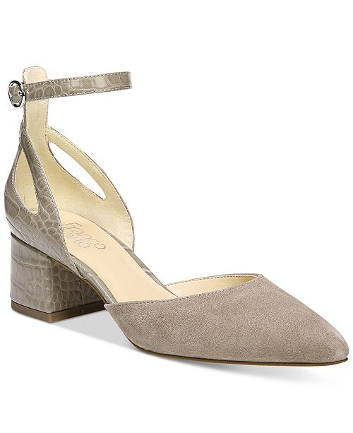 Franco Sarto Caleigh Ankle-Strap Pumps