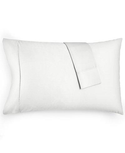 AQ Textiles Devon Standard Pillowcase Pair, 900 Thread Count, Created for Macy's