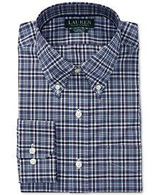 Lauren Ralph Lauren Men's Regular Fit Non-Iron Glen Plaid Dress Shirt