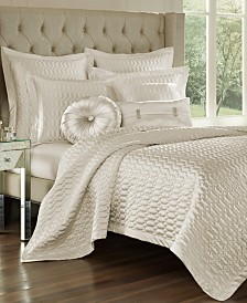 J Queen New York Satinique Quilted King Coverlet
