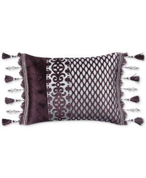 "J Queen New York Sicily 15"" x 20"" Boudoir Decorative Pillow Bedding 5005671"