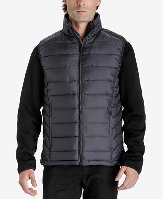 Michael Kors Men's 3-in-1 Fleece Jacket - Coats & Jackets - Men ...