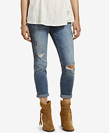Jessica Simpson Maternity Medium Wash Skinny Ankle Jeans