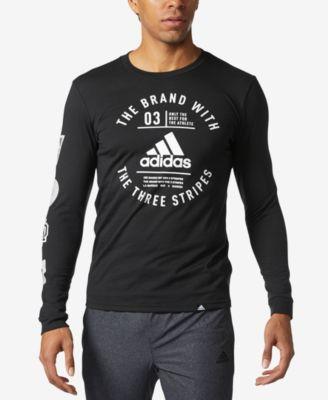 adidas Men s Graphic Long-Sleeve T-Shirt - T-Shirts - Men - Macy s 86bd693f5