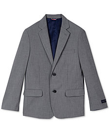 Tommy Hilfiger Sharkskin Suit Jacket, Big Boys
