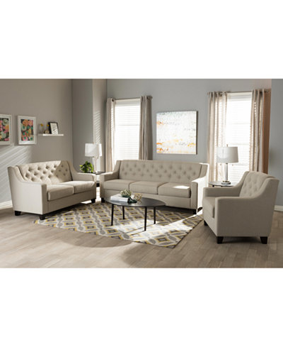 Arcadia Living Room Collection, Quick Ship
