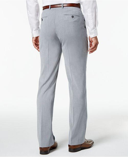 42b16e6570 INC International Concepts I.N.C. Men s Light Grey Suit Pants ...