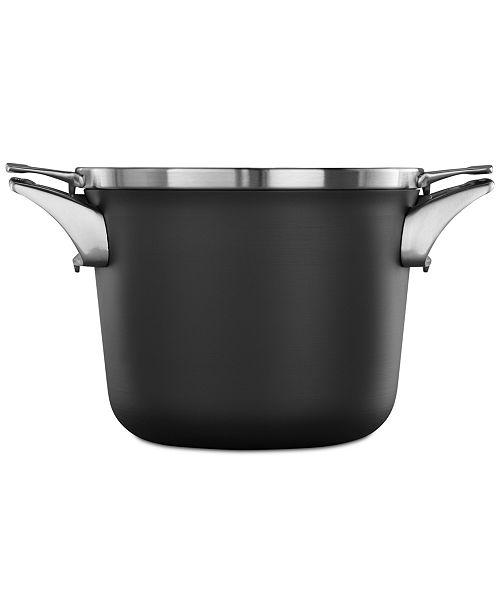 Calphalon Premier Space-Saving Hard-Anodized Non-Stick 4.5-Qt. Soup Pot & Lid