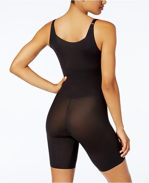 d25e99fb7be ... Maidenform Women's Firm Tummy-Control Instant Slimmer Long Leg Open  Bust Body Shaper ...