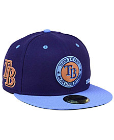 New Era Tampa Bay Rays X Wilson Circle Patch 59FIFTY Fitted Cap