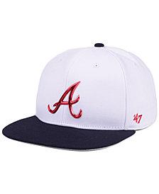 '47 Brand Atlanta Braves Firework CAPTAIN Cap