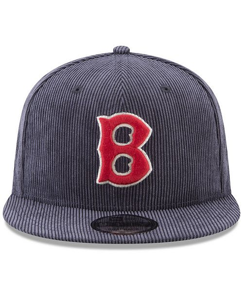 617a21f45ee ... low price new era. boston red sox all cooperstown corduroy 9fifty  snapback cap. be
