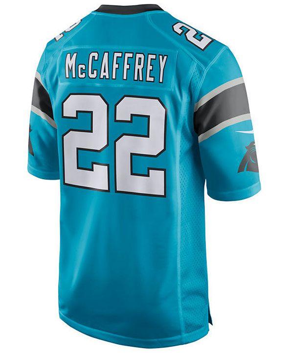 Nike Men's Christian McCaffrey Carolina Panthers Game Jersey