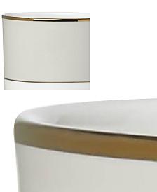 Lenox Pleated Colors Gray Mug