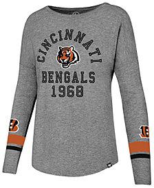 '47 Brand Women's Cincinnati Bengals Encore Long Sleeve T-Shirt