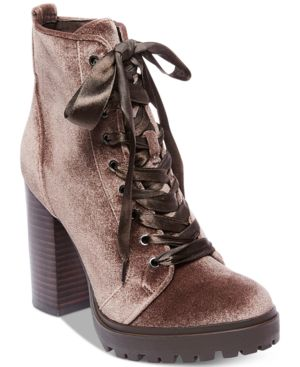 WOMEN'S LAURIE PLATFORM LACE-UP BOOTIES