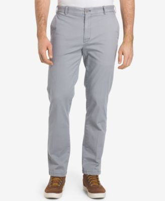 IZOD Mens Saltwater Stretch Flat Front Straight Fit Chino Pant