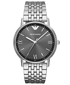 Emporio Armani Men's Stainless Steel Bracelet Watch 41mm