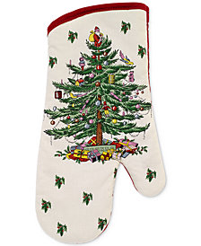 Spode Christmas Tree Oven Mitt, Created for Macy's