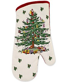 CLOSEOUT! Spode   Christmas Tree Oven Mitt, Created for Macy's