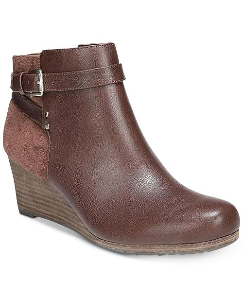 f86a1f46340e Dr. Scholl s Double Booties   Reviews - Boots - Shoes - Macy s