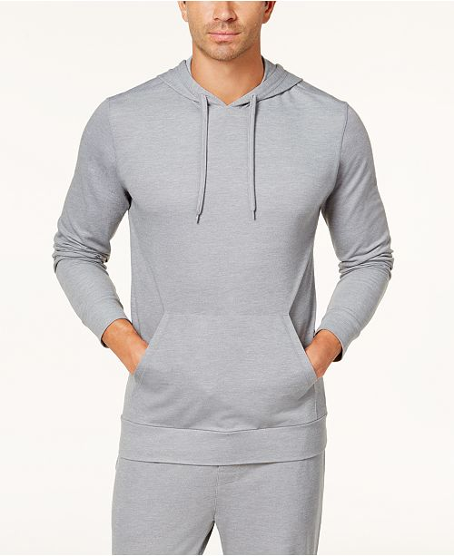 32 Degrees Men's Piqué Pajama Hoodie