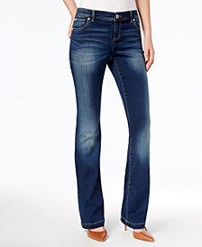 I.N.C. Petite Dark Wash Bootcut Jeans, Created for Macy's