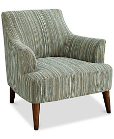 Lidia Fabric Accent Chair, Created for Macy's