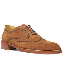 Donald Pliner Men's Zindel2 Suede Wingtip Oxfords