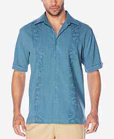 Cubavera Men's Floral Embroidered Shirt