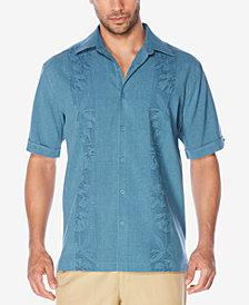 Cubavera Men's Floral Embroidered Shirt