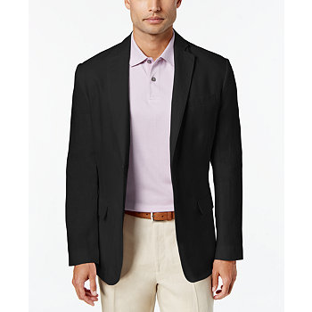 Tasso Elba Men's Linen 2-Button Blazer