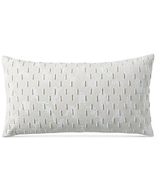 "Hotel Collection Brushstroke 12"" x 22"" Decorative Pillow, Created for Macy's"
