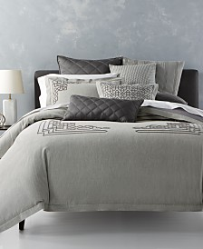 CLOSEOUT! Hotel Collection  Fretwork Bedding Collection, Created for Macy's