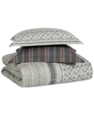 CLOSEOUT! Whim by Martha Stewart Collection Neo Geo Reversible 2-Pc. Twin Comforter Set, Created for Macy's