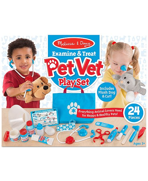5b205a521b Melissa and Doug Melissa   Doug Pet Vet Play Set   Reviews - All ...