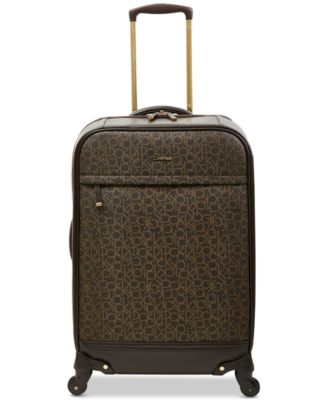 """Mulberry 24"""" Softside Spinner Suitcase"""